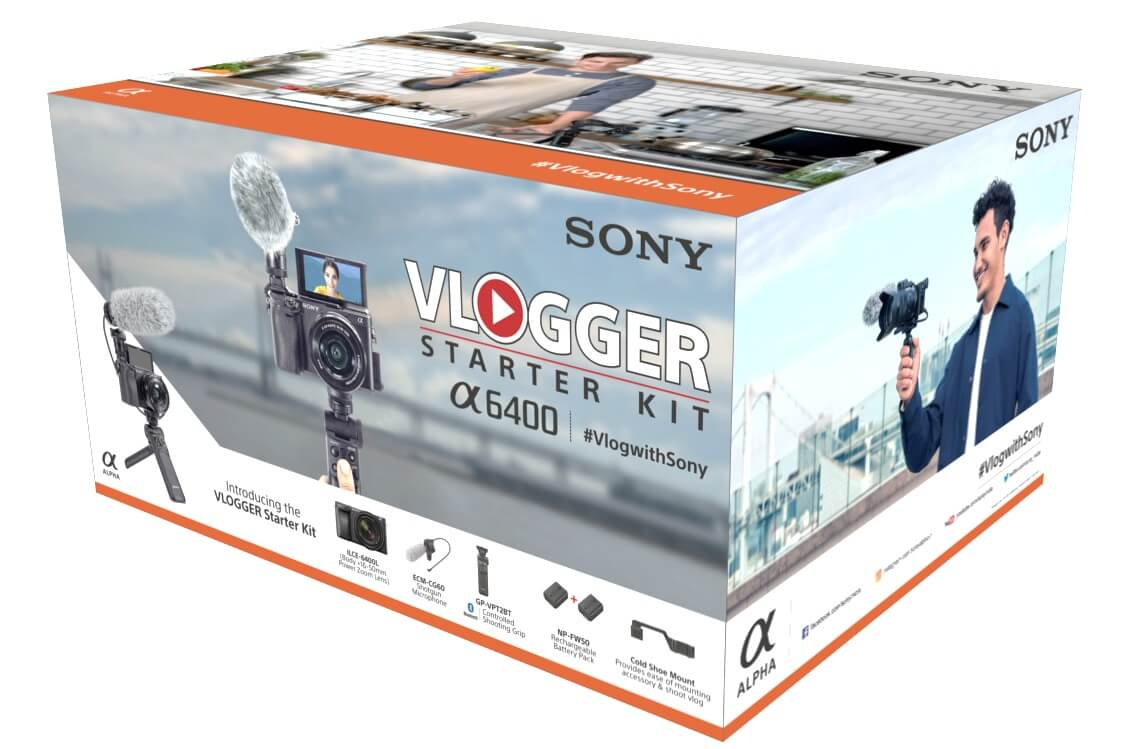 Sony Vlogging Kit Box